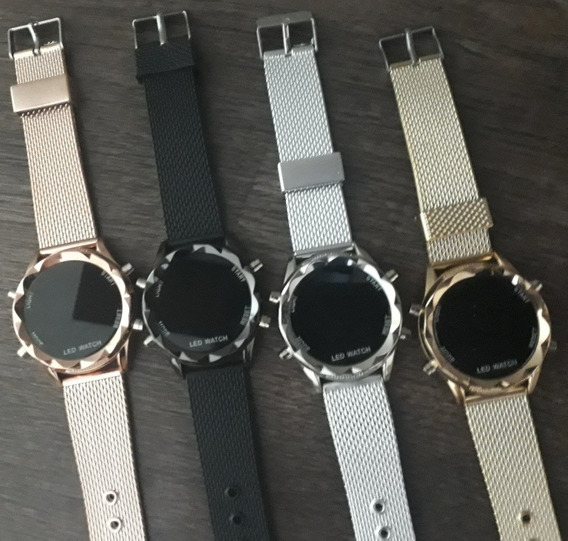 Kit Com 5 Relógios Digital Feminino Atacado Lote Revenda