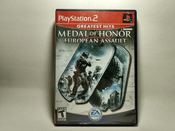 Medal Of Honor European Assault - Original Americano - Ps2