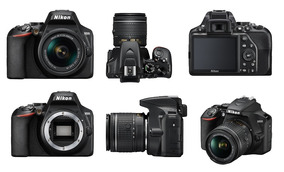 Câmera Nikon D3500 Dslr Lente 18-55mm Lançamento