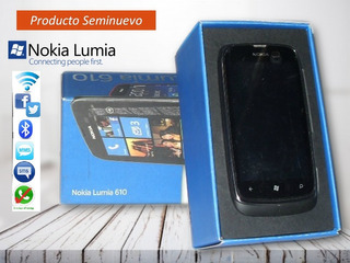 Celular Nokia Lumia 610-wifi-gps-redes-whats-bluetooth-radio