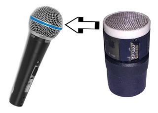 Capsula Repuesto Para Reparar Micrófonos By Dancis