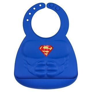 Bumkins Babero De Silicona 6 24 Meses Superman 624 Meses Az