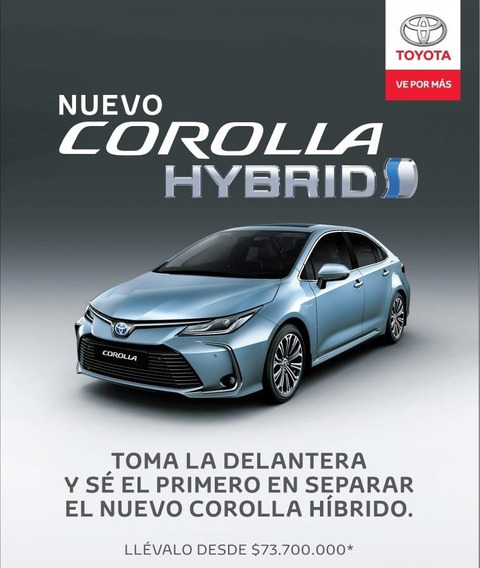 Corolla Hybrido 2020 Seg 1.8 At