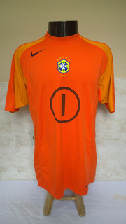 Camisa Futebol De Goleiro Seleção Do Brasileira