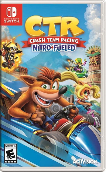Crash Team Racing Nitro-fueled Switch Mídia Física Português