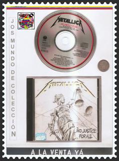 Metallica - Cd Original - Un Tesoro Músical
