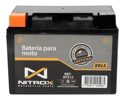 Imagen 1 de 2 de Batería Nitrox  Moto Downtown 300