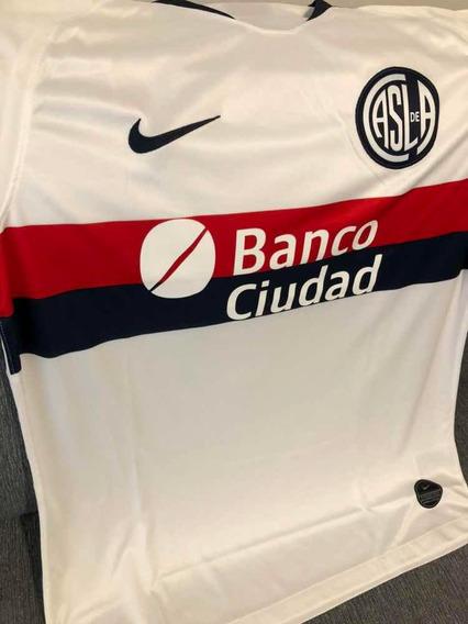 Camiseta Suplente De San Lorenzo Original Y Nueva Talle L