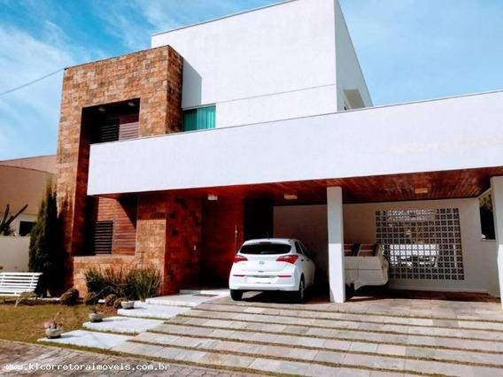 Casa Em Condomínio Para Venda Em Natal, Candelária, 4 Dormitórios, 3 Suítes, 5 Banheiros, 3 Vagas - Kc 0270_2-972604