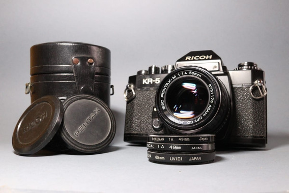 Câmera Ricoh Kr-5 + Lente Pentax 1.4