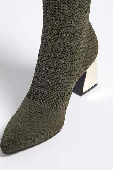Botas Elastizadas Forever 21, Zara, H&m