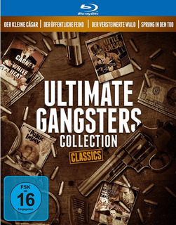 Blu Ray Ultimate Gangsters Collection - 4 Filmes, C/luva.