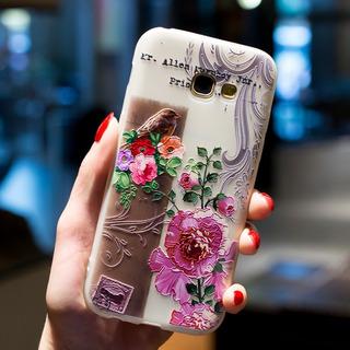 Case Capa Samsung Galaxy S7 Anti Shock Impacto Flores Bird