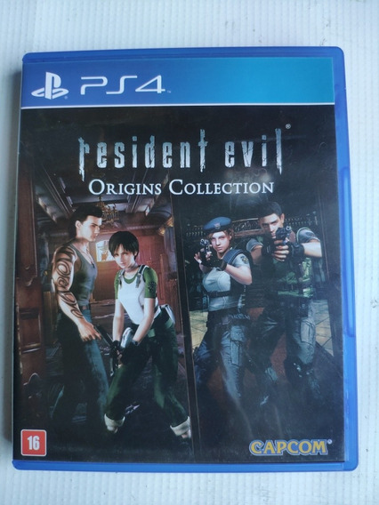Resident Evil Origins Collection Ps4 Midia Física Semi Novo