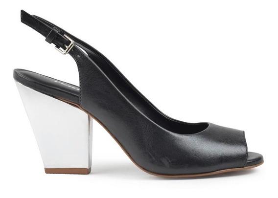 Zapatos De Mujer De Cuero Zueco Saona - Ferraro