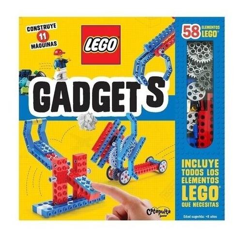 Libro Gadgets Con 58 Elementos Lego - Construye 11 Maquinas