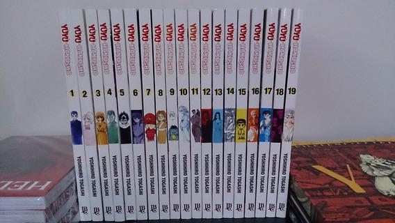 Yuyu Hakusho 1 A 19 Completo De Yoshihiro Togashi Ed. Jbc
