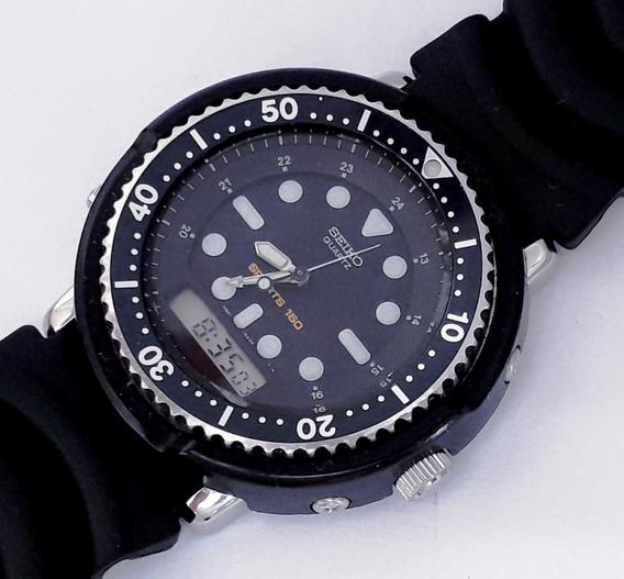 Seiko By Arnie Scuba Professional H601-5484 Diver 150m 1990s