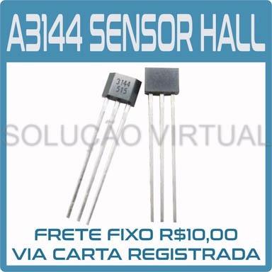 Kit Com 10 - Sensor Efeito Hall - A3144 E - A3144e - Oh3144e