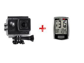 Câmera Sjcam Sj4000 Wifi 1080p + Velocímetro S/ Fio U10w
