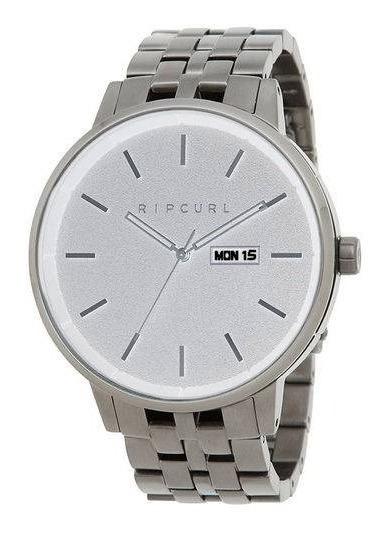 Relógio Rip Curl Detroit Silver A3086 -aço Inoxidável