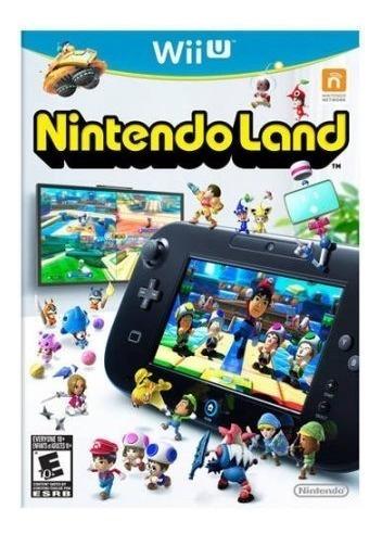 Jogo Wiiu Nintendo Land Nintendo Midia Fisica