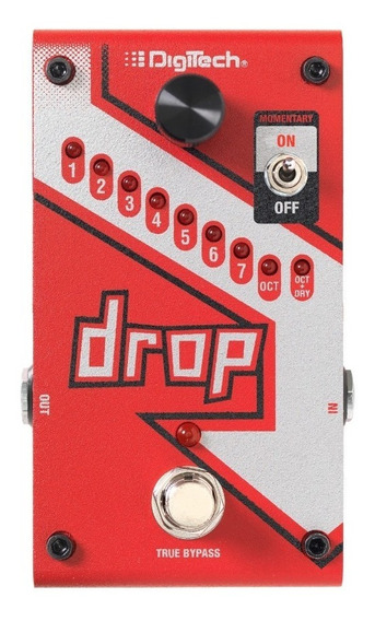 Pedal Digitech The Drop Polyphonic Tune Pitch Shifter+fonte