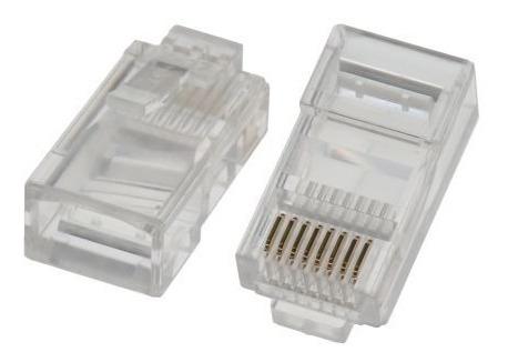 100 Plug Rj45 Cat5e