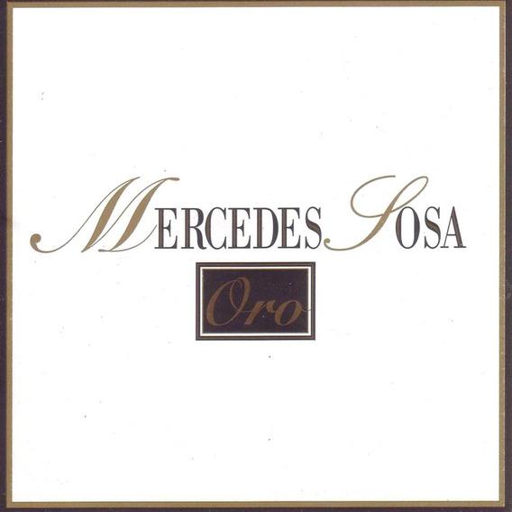 Mercedes Sosa - Oro Cd Nuevo Cerrado