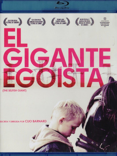El Gigante Egoista The Selfish Giant Pelicula Blu-ray