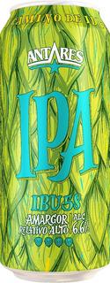 Cerveza Artesanal Antares Lata 473 Ml Ipa 6 Unidades