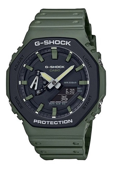 Reloj Casio G-shock Ga-2110su-3a Hombre Original E-watch