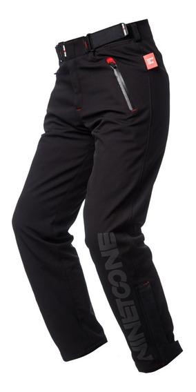 Pantalon Moto Softshell Ls2 Dinamic Protecciones Desmontable