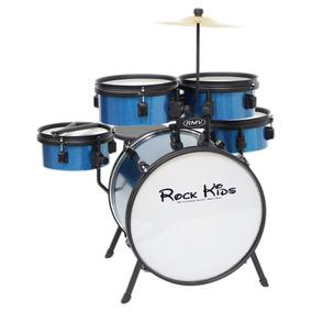 Bateria Infantil Rmv Rock Kids 5pçs Azul | Original
