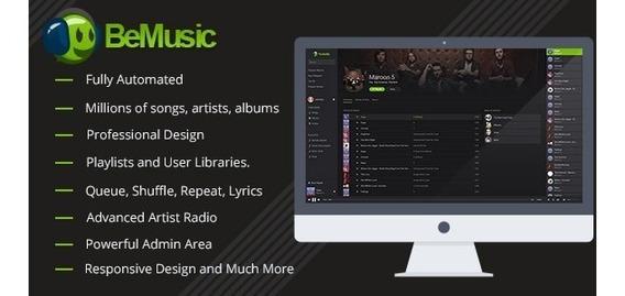 Script Bemusic Atualizado 2019 2.3.4 , Plataforma Musica