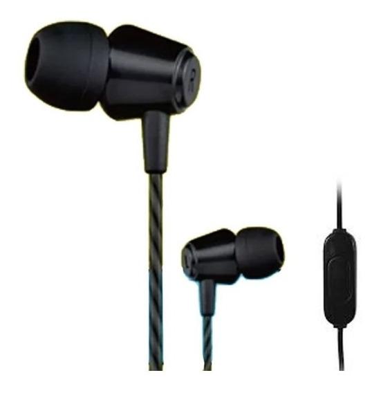 Fone De Ouvido Jwcom K21 Intra Auricular Com Microfone Bass