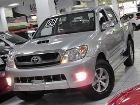 Toyota Hilux 3.0 Srv Cab. Dupla 4x2 2008 Prata Completo