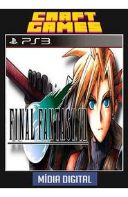 Final Fantasy Vii Ps3 Digital Psn