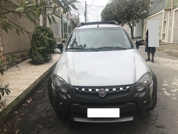 Fiat Strada Adv 1.8 Cabine Dupla, 3 Portas* 2015 * Kit Gás