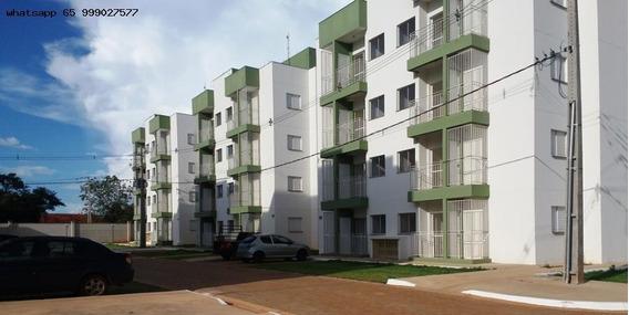 Apartamento Para Venda Em Várzea Grande, Pirineu, 2 Dormitórios, 1 Banheiro, 1 Vaga - 146_1-1269174