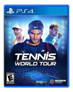 Tennis World Tour (am) / Juego Físico / Ps4