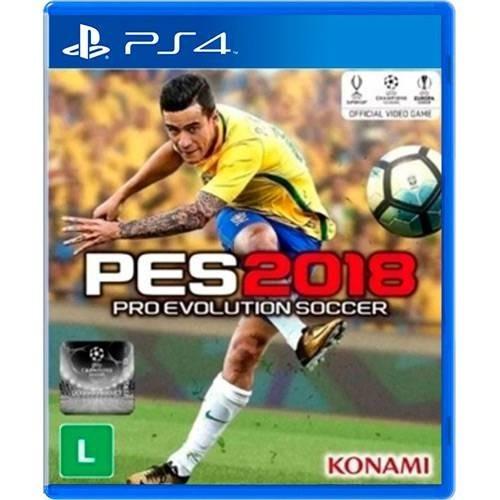 Jogo Pes 2018 - Pro Evolution Soccer - Playstation 4 - Ps4
