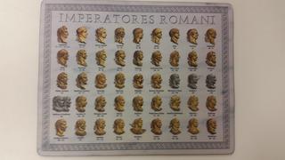 Mouse Pad Dibujo Emperadores Romanos