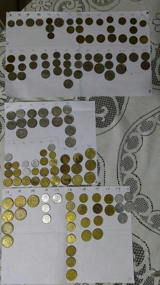 Lote De 140 Monedas Argentinas Desde 1930 A 1990.