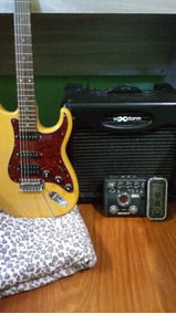 Combo Guitarra Tagima + Cubo Voxtorm 12 + Pedaleira Zoom G2
