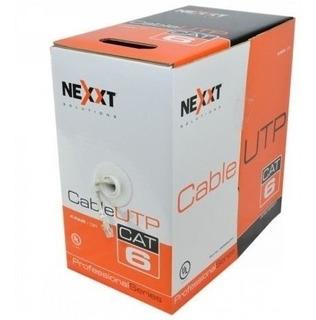 Rollo De Cable Utp/cat 6 Cm Nexxt