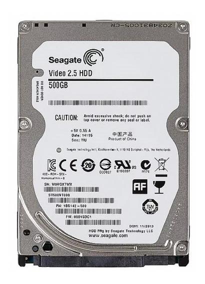Hd De Notebook Seagate 500gb