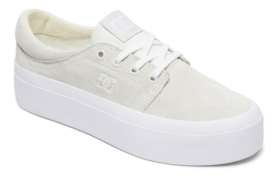 Zapatilla Trase Platform Le Blanco Dc Shoes