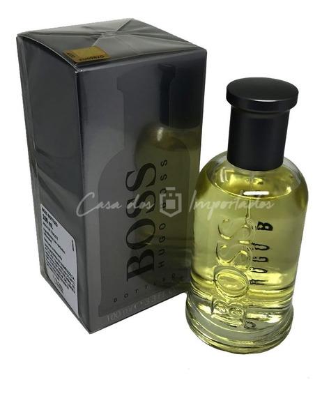 Boss Bottled ( Cinza ) 100ml Masculino + Amostra De Brinde