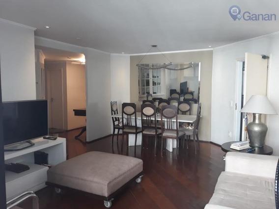 Apartamento Com 3 Dormitórios À Venda, 127 M² Por R$ 1.100.000 - Moema - São Paulo/sp - Ap5844